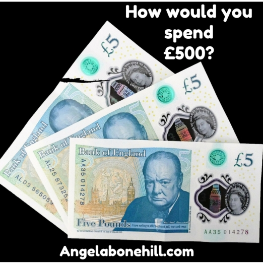 What would you spend £500 on_